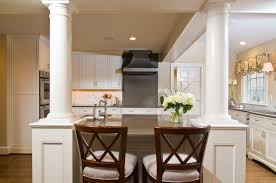 Alexandria Timeless Kitchen Addition traditional kitchen Columns with  storage under bar | Kitchen | Pinterest | Kitchen columns, Timeless kitchen  and ...