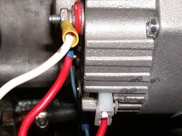 311s org datsun sports tech wiki techsection 311s org datsun this is all you really need to do wire it up jump the 2 terminal to the alternator output note the black marks on my new alternator