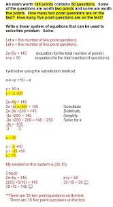 solving systems equations by substitution word problems worksheet luxury systems equations word problems repinned