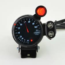 rpm gauge tattoo. universal 80mm speed tachometer gauge blue white red led 11000 rpm with adjustable shift light+ rpm tattoo