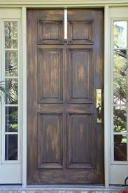 how to refinish front doorFall Front Door Makeover