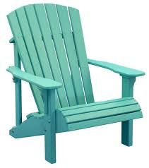 furniture deck. Deluxe-adirondack-chair-aruba-blue Furniture Deck