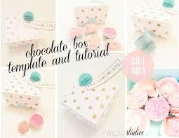 Chocolate Box Template And Tutorial Twigg Studios