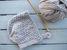 Baby Bonnet Knitting Pattern Custom Ideas