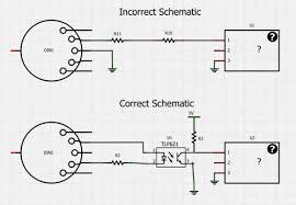 usb midi schematic organ cable and usb usb midi schematic