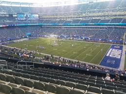 Metlife Stadium Football Seating Chart Metlife Stadium Section 209 Giants Jets Rateyourseats Com
