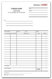 Custom Sales Order Form Printing Invoice Template Word
