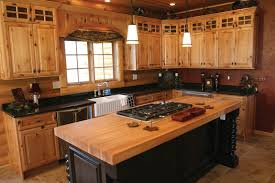 Cabin Remodeling Rustic Pine Kitchen Gallery With Cabinets