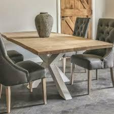 Esstisch Holztisch Tisch Eiche Massiv Fuß Spider 200 X 100 Cm