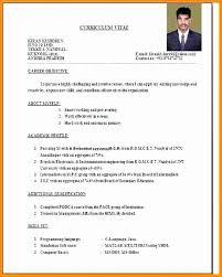 Resume Fresher Teacher Vancitysounds Com