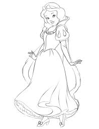 Small Picture Snow White coloring page Free Printable Coloring Pages