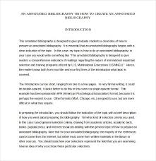 Apa Format Introduction Annotated Bibliography Introduction Apa How To Write An