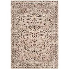 serenity cream brown 8 ft x 10 ft area rug