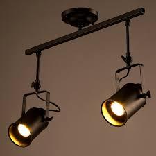 long track lighting. Aliexpresscom Buy Modern Industrial Led Ceiling Lamp BarsClothing Store 2 Head Long Rod Creative Track Lightingspotlights With E27 LED 5W Bulb From Lighting O