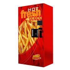 Hot Chip Vending Machines Australia New French Fries Vending Machine In Australia Food Pinterest