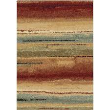 8 x 11 large rust area rug metropolitan