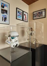 office display cases. Mark Russinovich Collects High-end Memorabilia, Along With Photos; Certificates; And, Office Display Cases