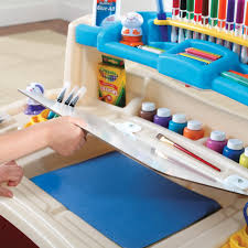 step2 deluxe art master desk dry erase board