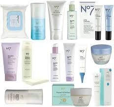 Number seven skin care