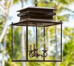 stunning lantern outdoor lighting fixtures bolton indooroutdoor lantern pottery barn