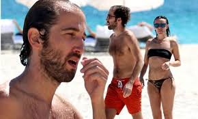 Daft Punk's Thomas Bangalter hits the beach with wife Elodie Bouchez