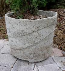 Big Concrete Planters Homemade Planters Best Martha Stewart Recipes And Martha Stewart