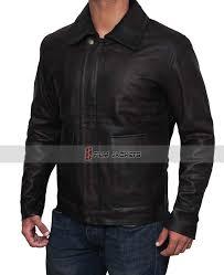 harrison ford indiana jones men brown leather jacket