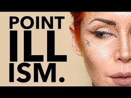 pointillism makeup by kat von d