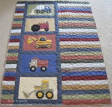 Best 25+ Boy quilts ideas on Pinterest | Baby quilts for boys, Kid ... & Piece N Quilt: Randomness @ Piece N Quilt------- use paper pieced heavy  machinery blocks for my next baby boy quilt Inspiration Adamdwight.com