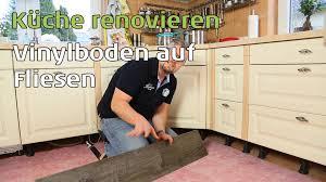 Fußboden erneuern ohne Küchen Ausbau