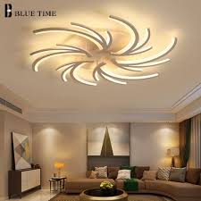 perbezaan harga beautiful acrylic modern led chandeliers for living room restaurant white home modern led chandelier