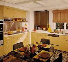 1970s kitchen cabinets style