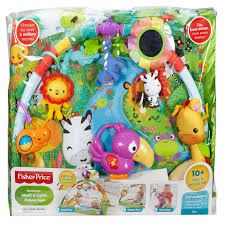 Baby Play Mat Light Up Fisher Price Dfp08 Rainforest Gym Baby Playmat With Music