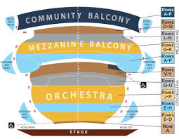 John G Hall Chart Seating Chart Springfield Symphony