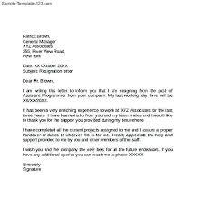 How To Write A Resignation Letter Pdf Rwthomson Info