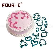 aliexpress com buy elaine s cake stencil set fondant cake