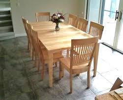 maple wood dining room table. solid maple \u201cprairie\u201d table with leaf wood dining room boulder furniture arts