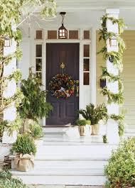southern front doorsFestive Front Doors for the Holidays  Zangari Studio