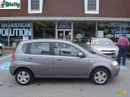 2007 Medium Gray Chevrolet Aveo 5 LS Hatchback #10931293 ...