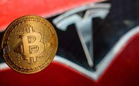 Tesla's bitcoin purchase at the time caused a spike in the price of the largest crypto asset by market capitalization. J Xyyb4 4fe8m