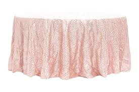 gold sequin tablecloth round mermaid scale sequin round tablecloth blush rose gold 108 inch round gold