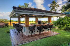 Outdoor Barbecue Kitchen Designs Hanalei Hawaii Kalamazoo Outdoor Gourmet