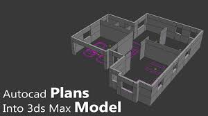 import 2d plans into 3d the right way