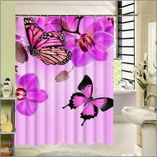 pink zebra shower curtains new 2017 new polyester fabric shower curtain purple waterproof home
