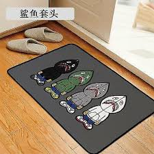details about ape shark milo bath area rug carpet door mat bedroom comp home decor kitchen kid