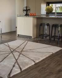 bowron designer lines sheepskin area rug