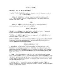 Landlord Tenant Lease Agreement Template Best Rental Images On Short ...