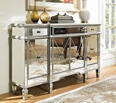 Hallway Console Cabinet Amazoncom 60 Mirrored Reflection Andrea Hall Console Cabinet