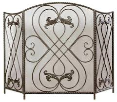 insulated decorative fireplace covers guards opening