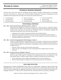 Resume Sample Training Manager Resume Ixiplay Free Resume Samples
